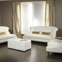 Sofa And Loveseat Set Up Es Maya Bellami Damario Tufted Leather 2pc