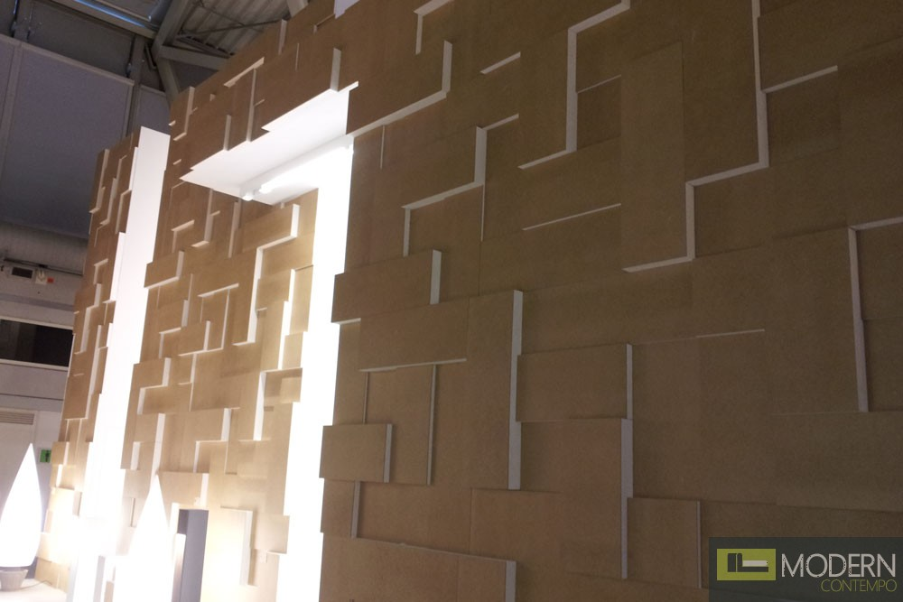 Modern Design mdf 3D Wall Panel Led 3dwalldecor Led 3dboard Led 3d wall panel