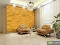BREEZE- Textured High Grade Polymer Glue on Wall 3D tiles