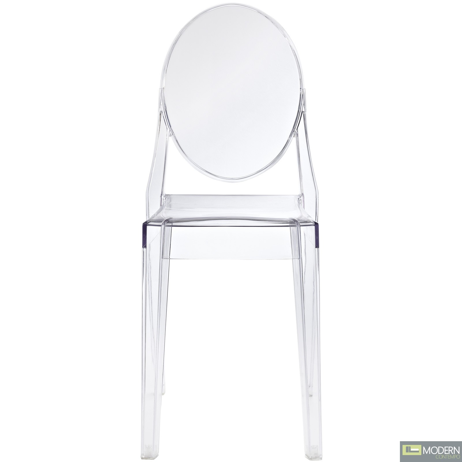 armless ghost chair shower with arms and backrest philippe starck victoria side dining clear
