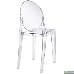 Armless Ghost Chair Wayfair Cushions Philippe Starck Victoria Side Dining Clear