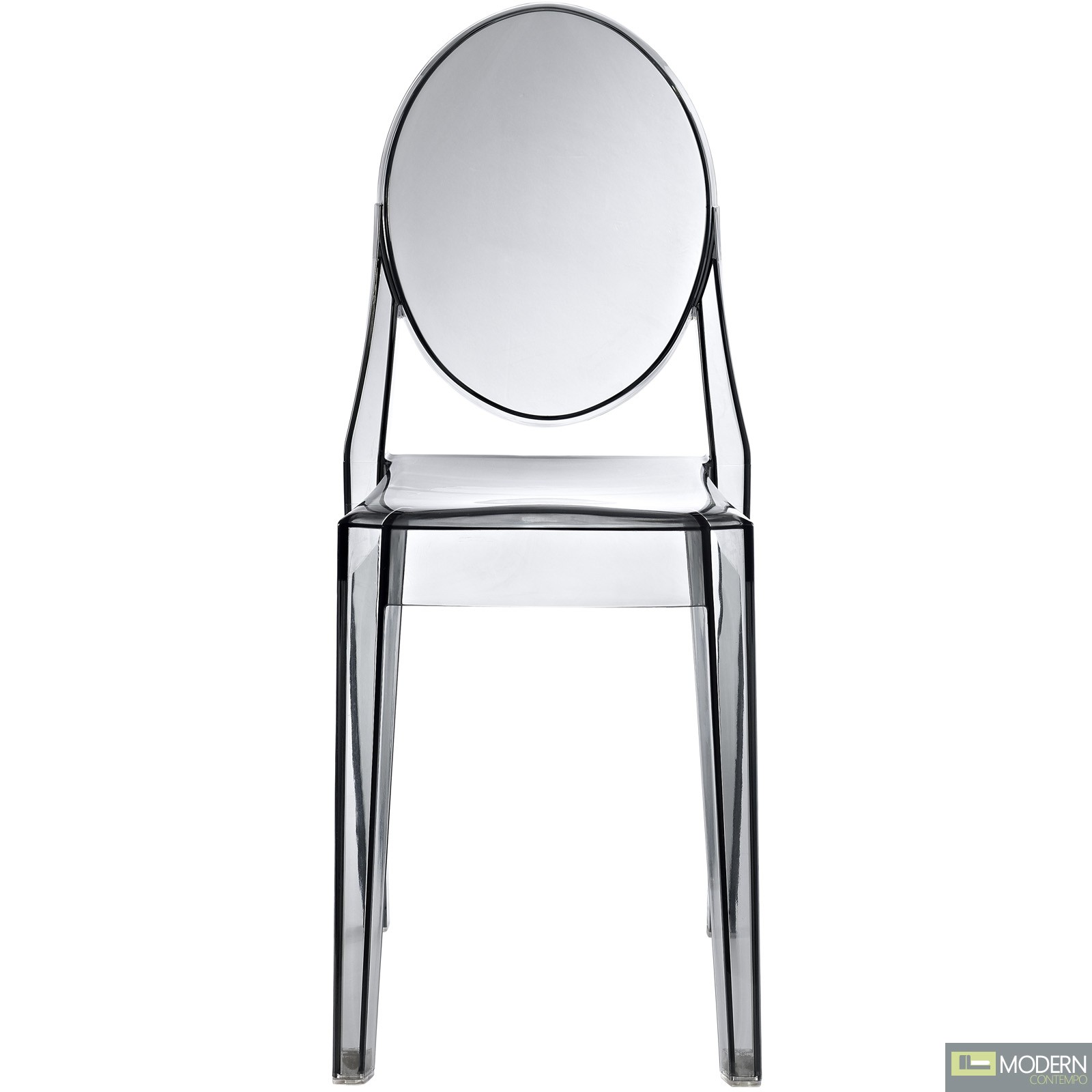 armless ghost chair bedroom dressing philippe starck victoria side dining clear