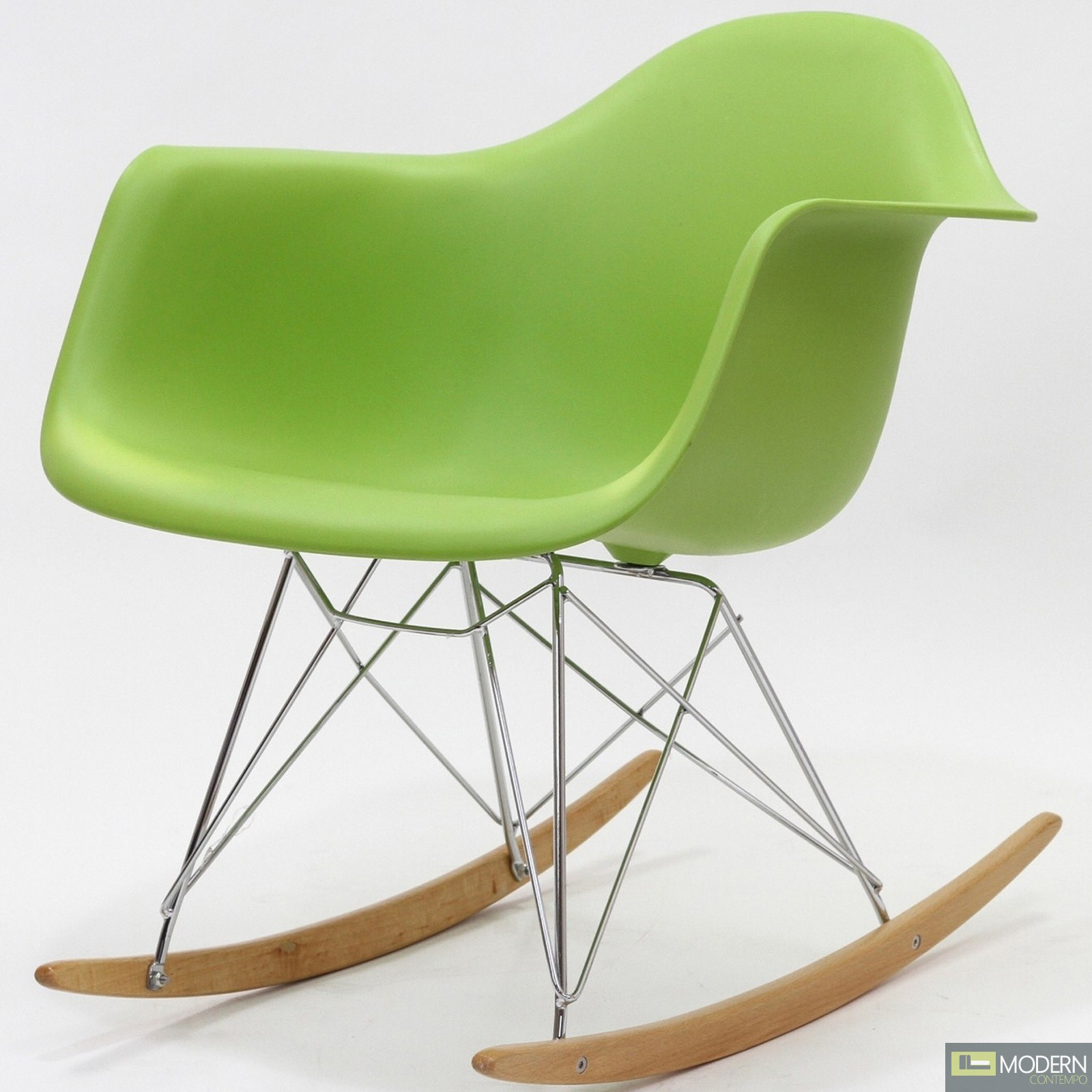 plastic rocking chair zero gravity reclining molded