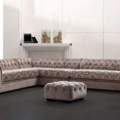 Gianni Corner Sofa Bed Review Kenton Sectional Reviews Divani Casa Metropolitan - Transitional Acrylic Crystal ...
