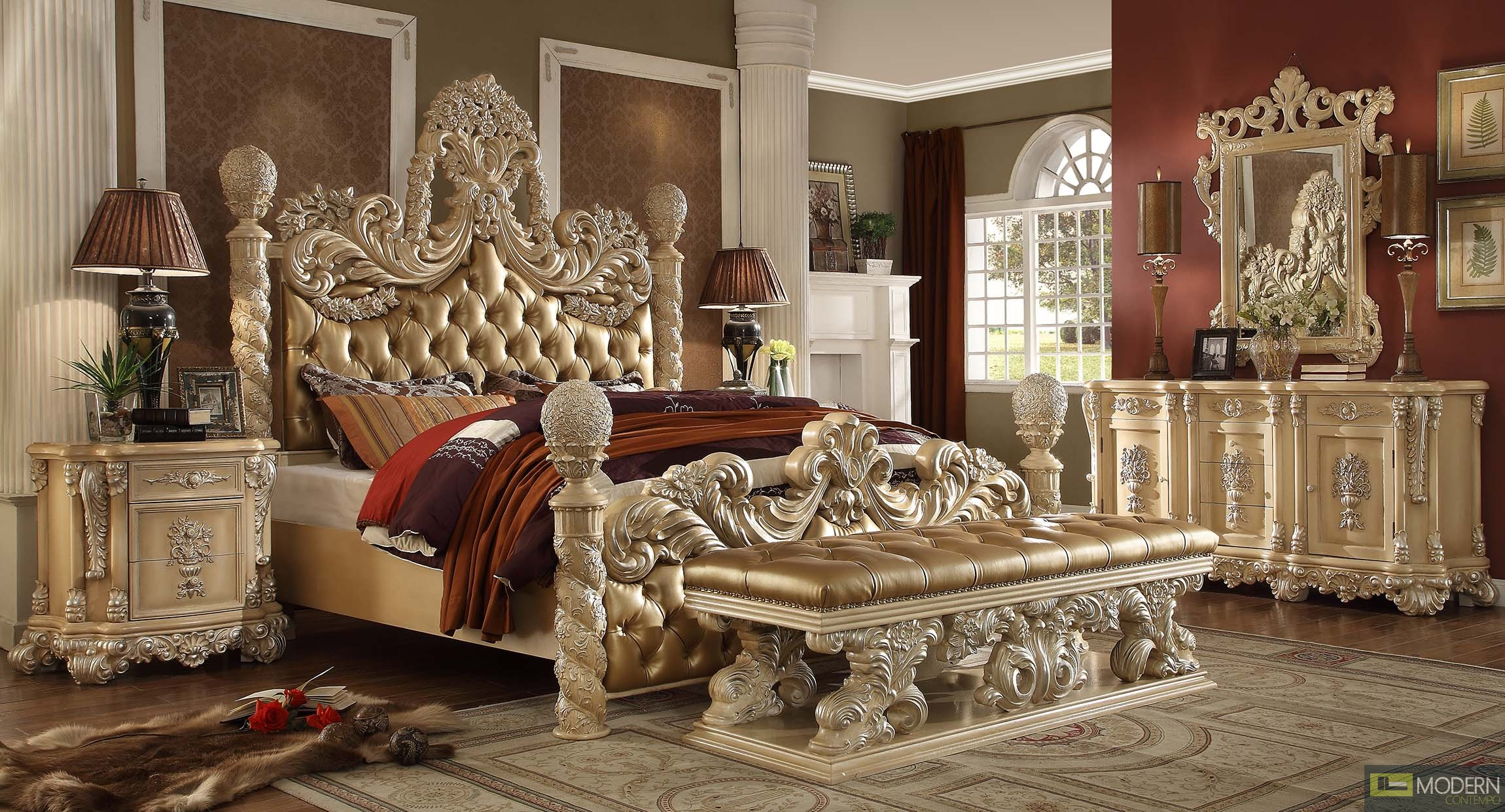 Luxury European Style Bedroom Set