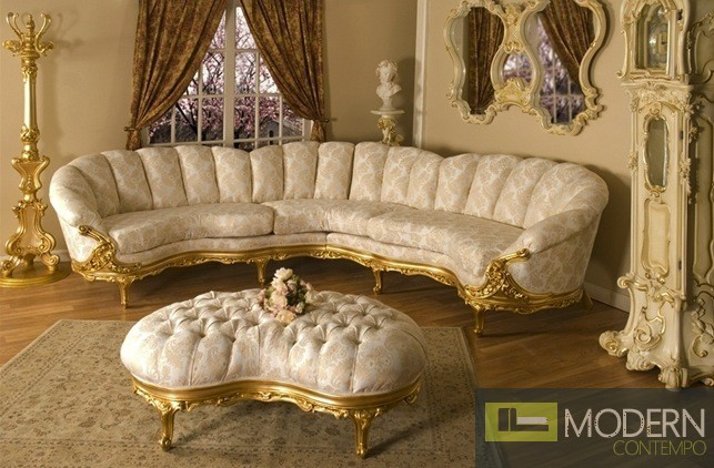 3PC High end Classic Provincial Victorian Sofa Loveseat Chair Living room ZP638