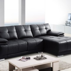 Sofa Bed Dallas Hotel 2pc Modern Leather Sectional Living Room Couch Set ...