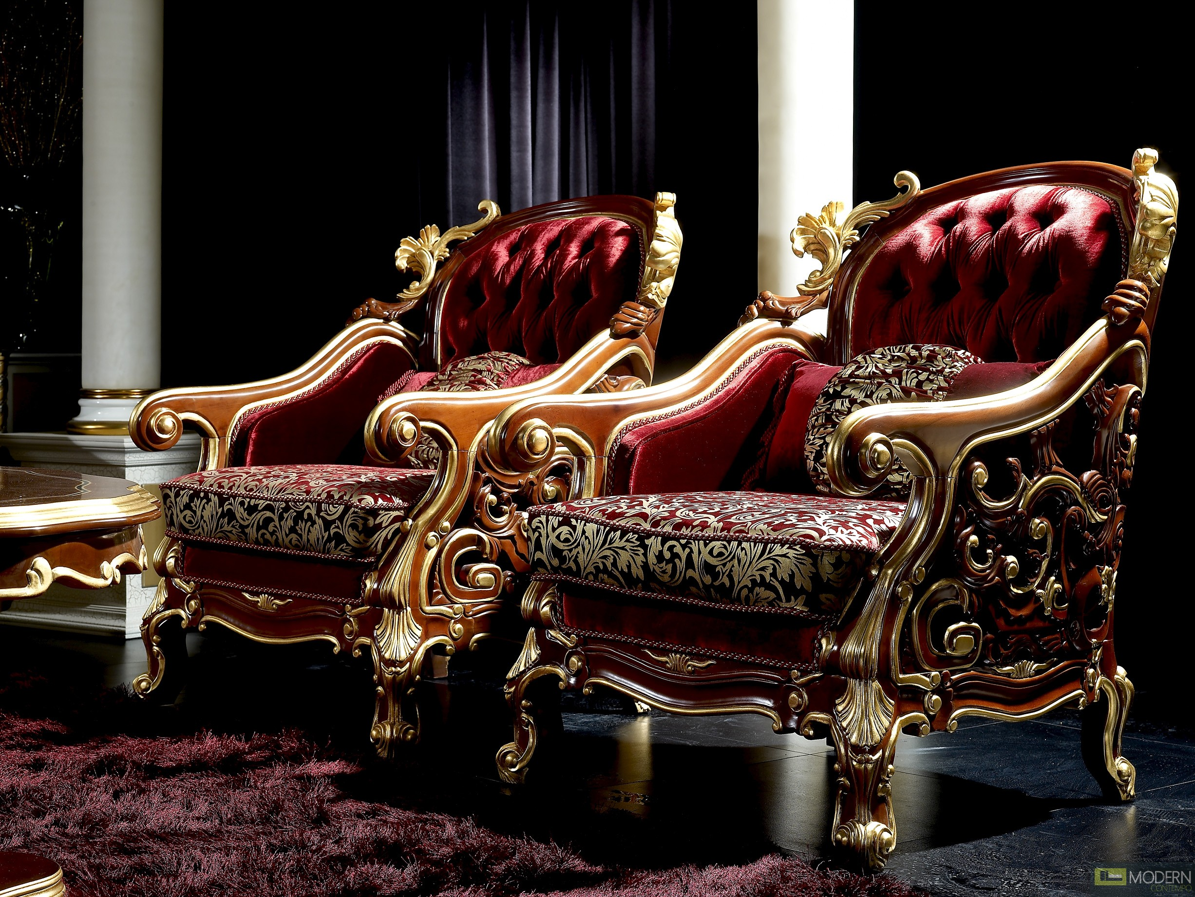 fancy sofa set design leather sectional reviews zuritalia ceasar royal luxury italian style living room