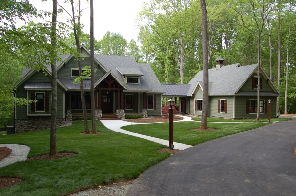 landscaping and final exteriors