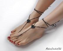 Barefoot Sandals Modern Crochet Club