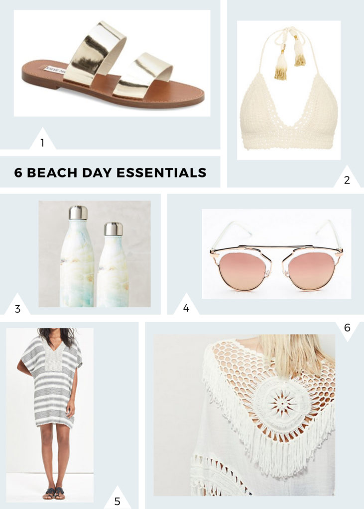 6 Beach Day Essentials