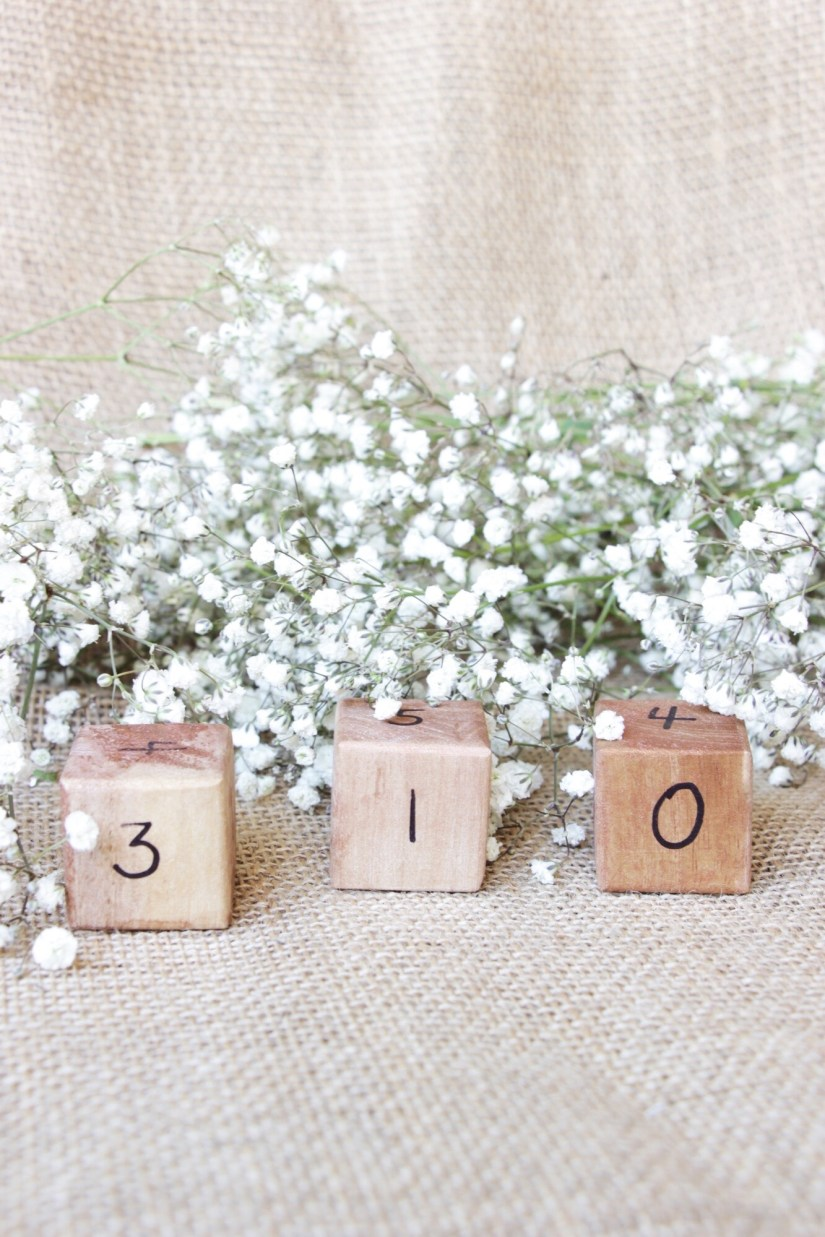 Wedding Countdown Cubes
