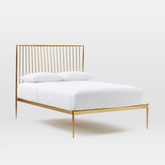 Shop: Gold Bed Frame / Modern Daydream Living