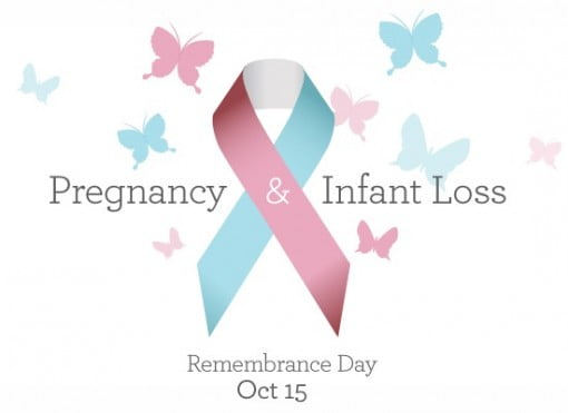National Infant Loss and Miscarriage Awareness Month ~ Wave of Light Tonight 7PM