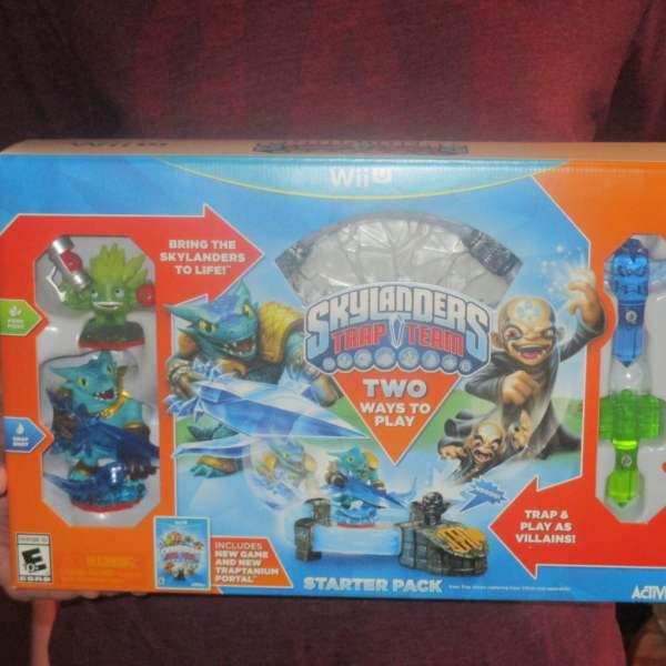 Skylanders Trap Team Starter Pack Wii U Game Review