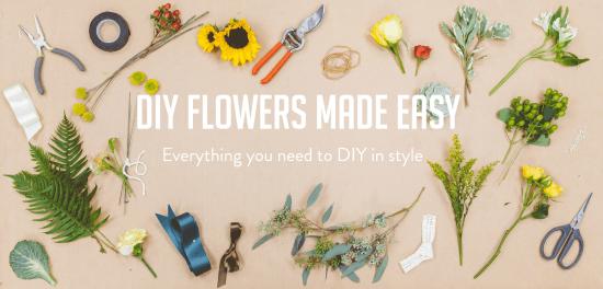 Bloominous Beautiful and Easy DIY Floral Arrangements