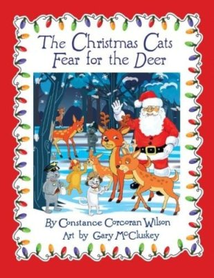 Christmas Cats Fear For the Deer Review #holidaygiftguide2015