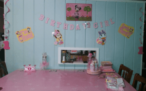 Minnie Mouse 1st Birthday Party #OrientalTrading #review #spon