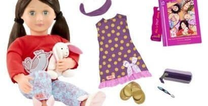"""Our Generation Doll Willow & """"The Most Fantabulous Pajama Party Ever"""""""
