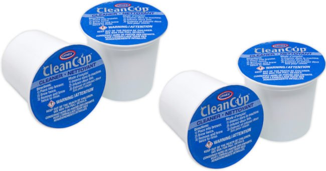 cleanup K-Cup Brewer Cleaner