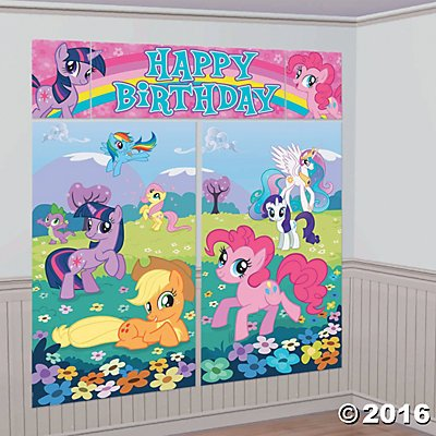Oriental Trading My Little Pony Party Decorations + Sale!