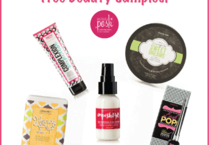 FREE Let's Be Posh Monthly Sample Club = FREE Beauty Products!