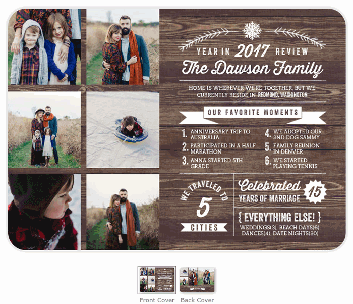 Custom Photo Holiday Cards