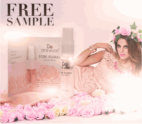 New Dewamor Pink Floral Fragrance Sample