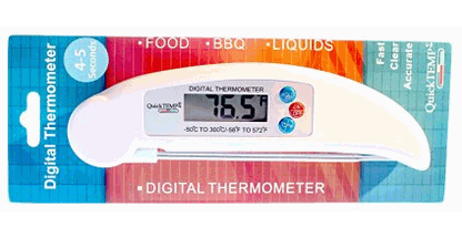 Quick Temp Instant Read Digital Thermometer