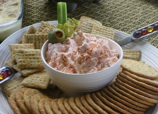 Bloody Mary Cream Cheese Dip