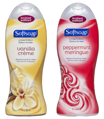 Softsoap Holiday Body Washes Bring the Spirit of the Holidays into your Shower!