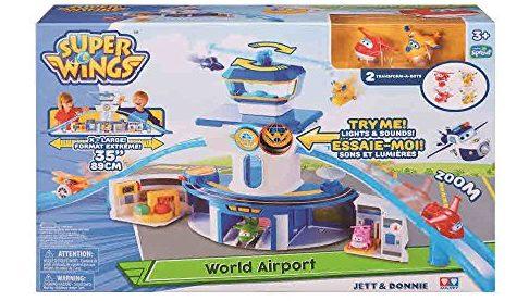 Super Wings Airport & Transforming Jett Playset