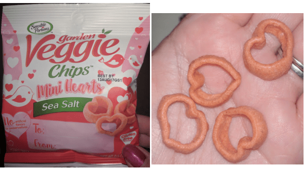 Mini Heart Garden Veggie Chips