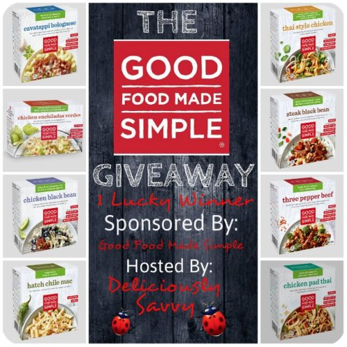 Enter to Win this Good Food Made Simple #Giveaway @GFMSimple