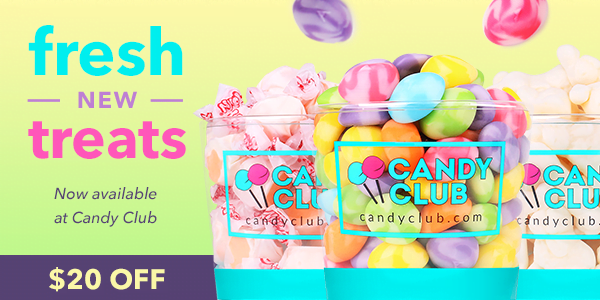 Get 3lbs of Premier Candies from Candy Club! A Monthly Candy Subscription