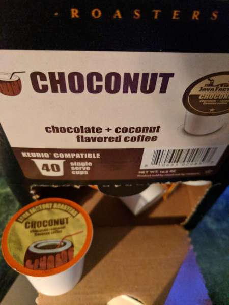 Two Rivers Choconut Flavored Coffee