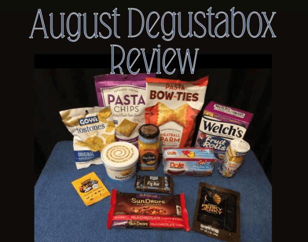 August 2017 Degustabox