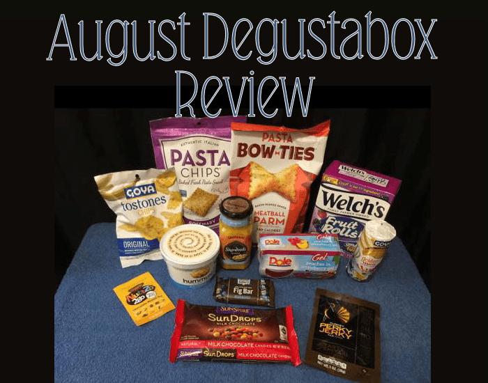 August Degustabox {Food Subscription Box} #AD @DegustaboxUSA #DegustaboxUSA