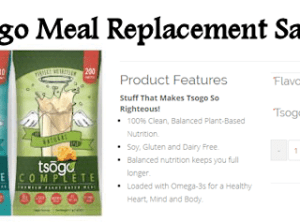 Order a Free Tsogo Meal Replacement Shake Sample