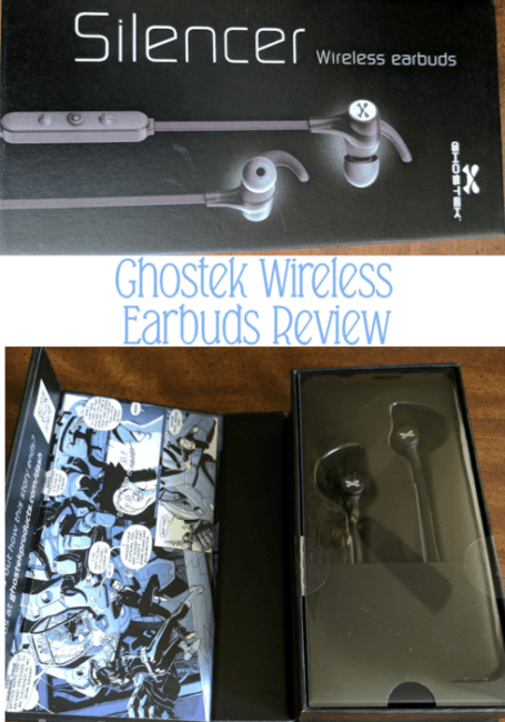 Ghostek Silencer Bluetooth Earbuds with Mic + Controls #AD
