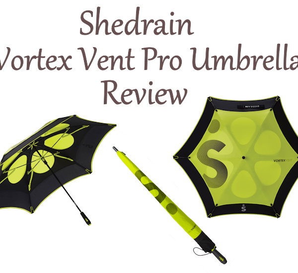 Stay Dry with a Shedrain Vortex Vent Pro Umbrella