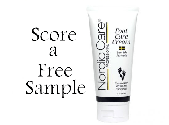 free nordic care foot cream