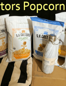 Enjoy G.H. Cretors Popped Corn and Holiday Movies #AD