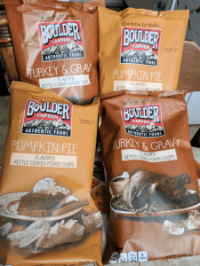 Boulder Canyon Thanksgiving Flavored Potato Chips as a Side Dish! #AD #Thanksgiving2017