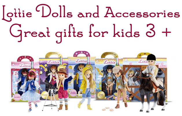 Santa Delivers and Kids will LOVE Lottie Dolls! #Christmas2017