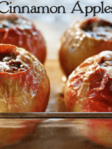 Try this Easy to make Baked Cinnamon Apples Recipe