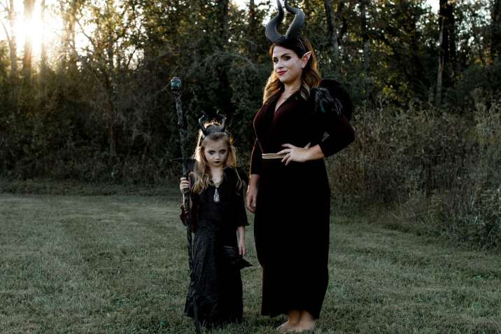 Maleficent and Maleficent fairy