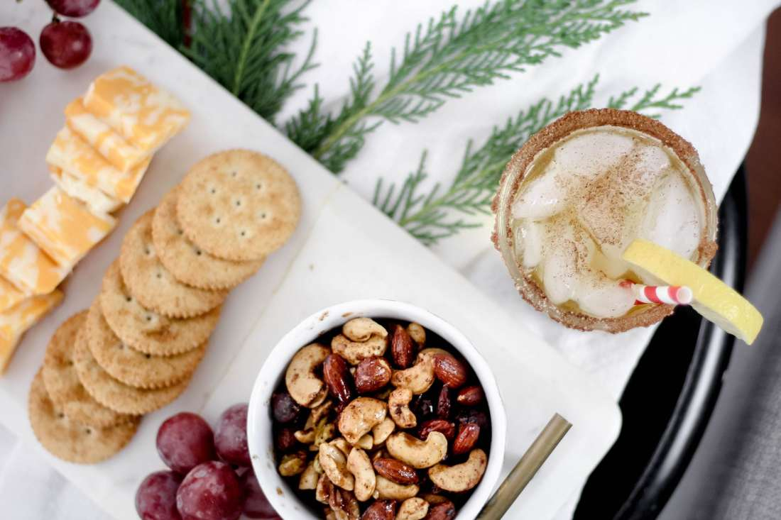 5 Essentials to Host your Own Holiday Soiree featured by top Nashville lifestyle blog, Modern Day Moguls: Cinnamon Maple Whiskey Sour