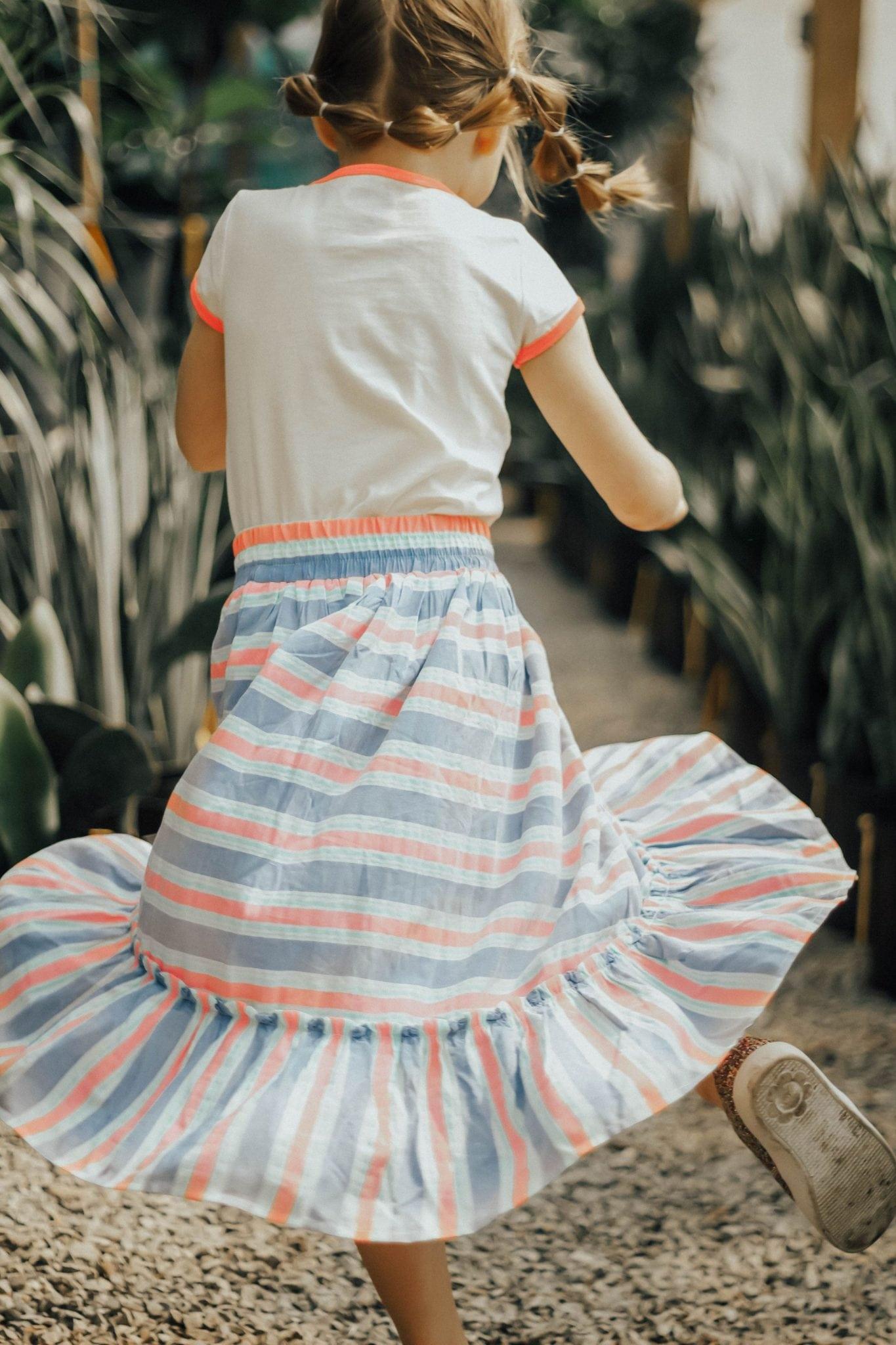 OshKosh's Striped Maxi Skirt Twirl Approved