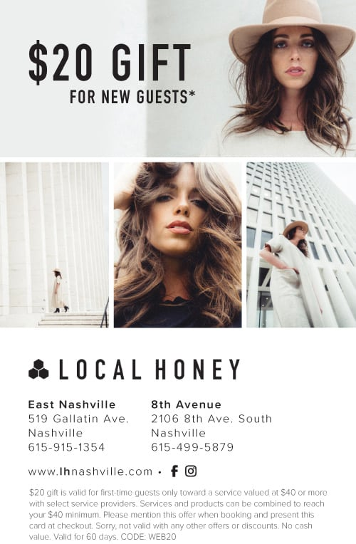 Local Honey: the best Nashville hair salon, featured by popular Nashville style blogger, Modern Day Moguls